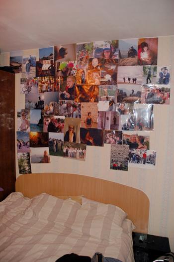 nuotraukų siena