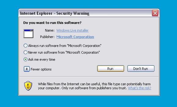 Microsoft nepasitiki net savimi