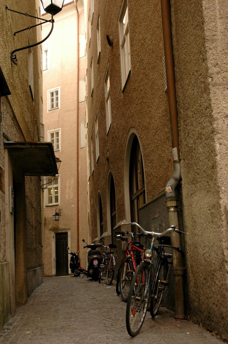 Austrija: dviratininkų gyvenimas