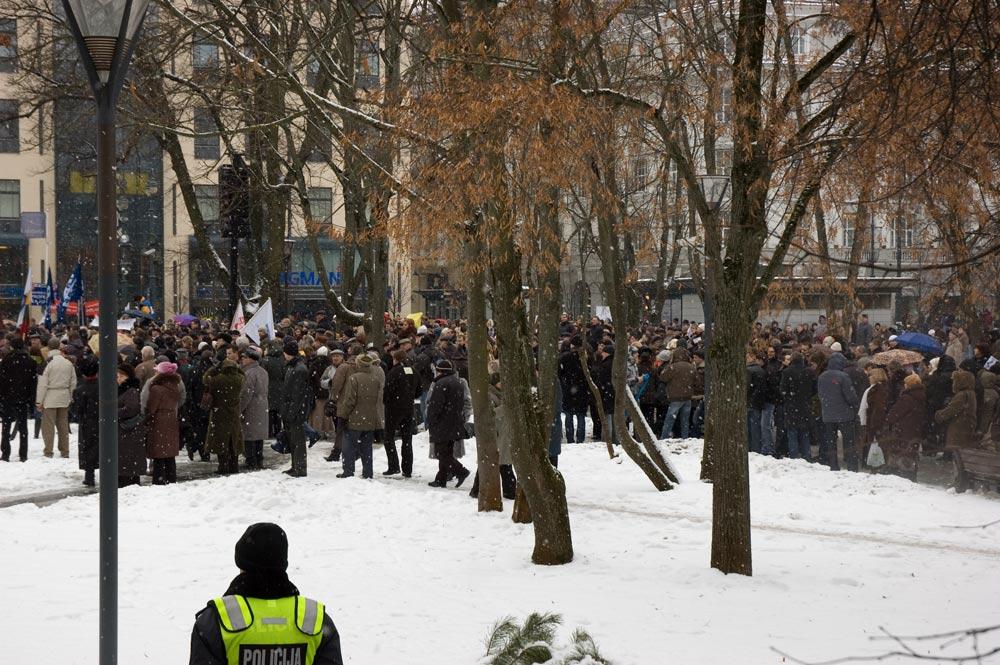 taikusis sausio 16-osios protestas