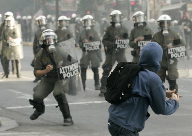 aš truputį anarchistas. Graikija, Atėnai
