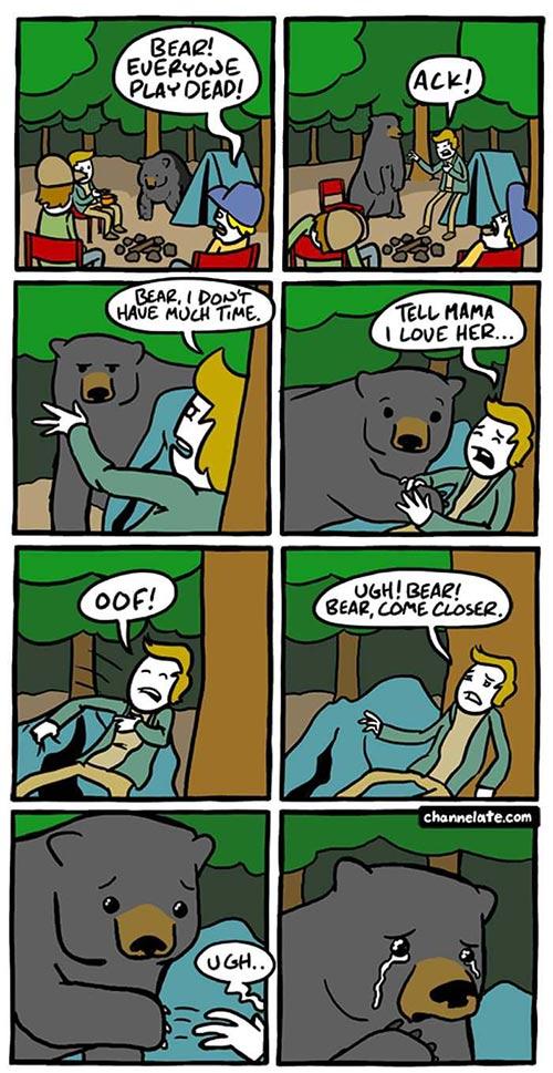 bear-play-dead