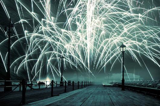 teisingas naujųjų metų sutikimas mieste?
