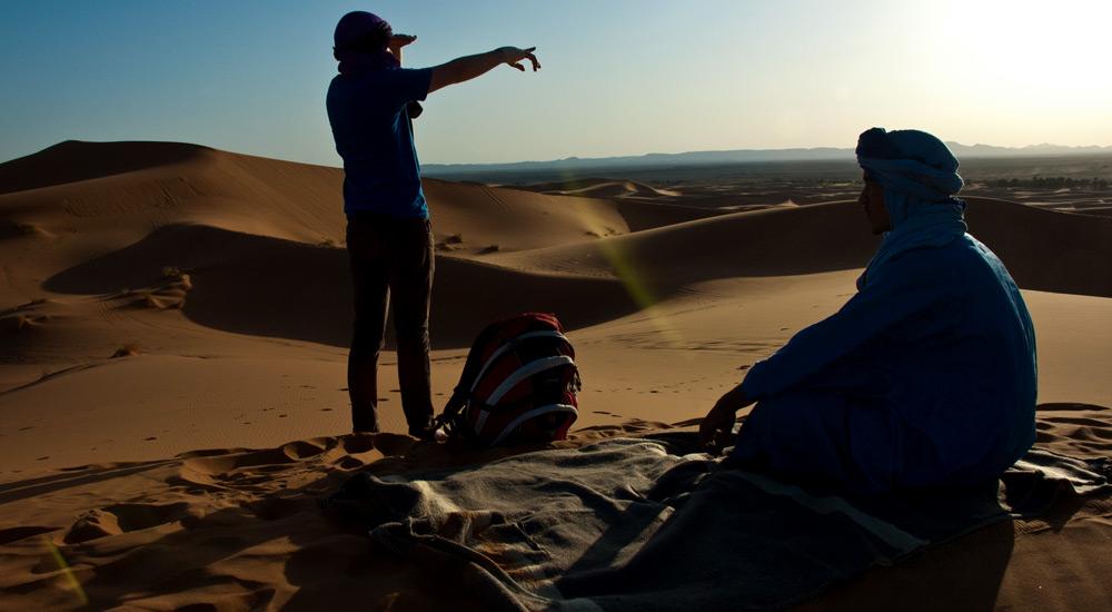 kelionė į Maroko dykumą ir kalnus