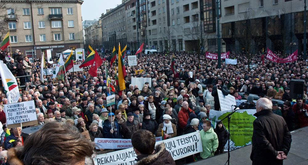 mitingas už teisingumą prie Seimo (2012 kovas)