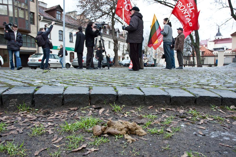 Paleckiukas ir jo puspročiai prieš Landsbergį