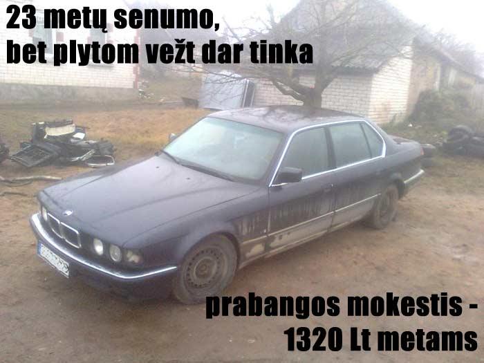 1320 Lt mokesčių už 2000 Lt vertės turtą
