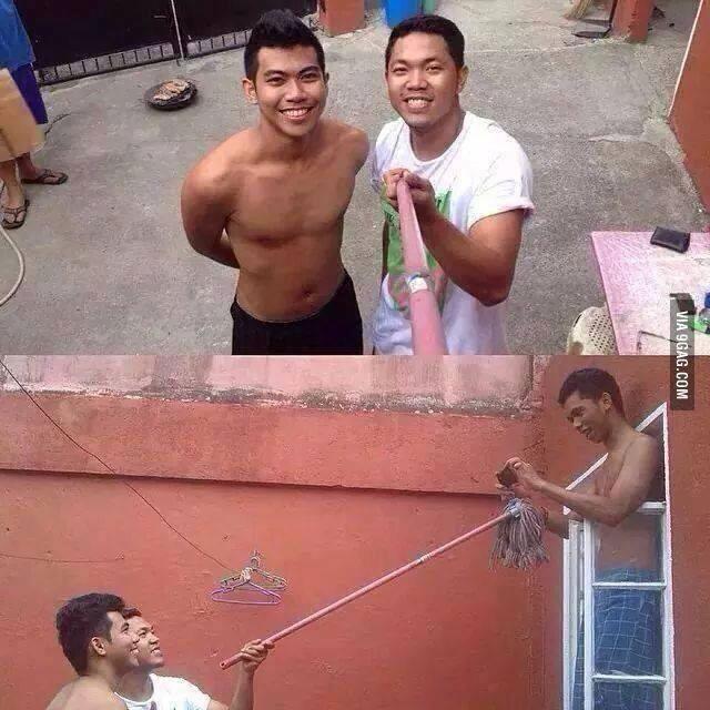 real-pole-selfie