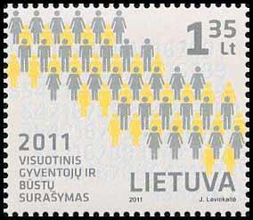 prasidėjo 2011 m. gyventojų surašymas