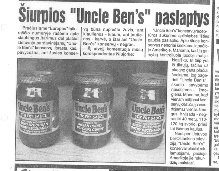 uncle-bens-straipsnis